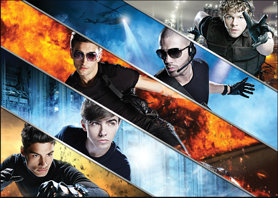 The Wanted - The Code Arena Tour by Simon Webb