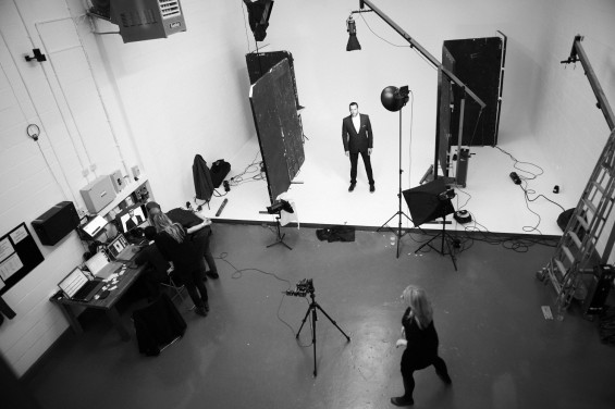 Chess London Menswear Photoshoot, Holborn Studios, Julian Okines