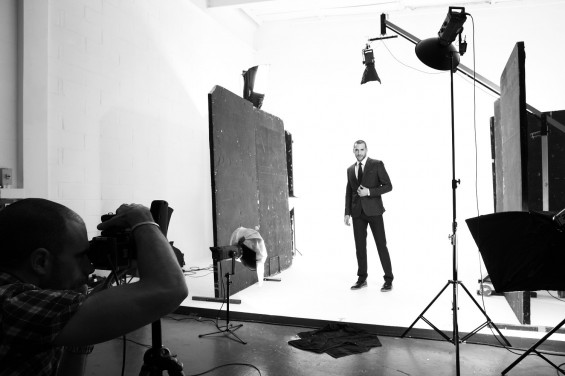 Chess London Menswear Photoshoot at Holborn Studios