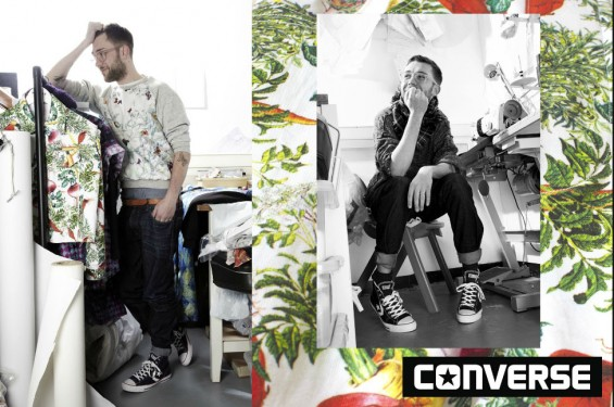 Ben McDade for Converse / Rollacoaster Magazine. Fashion Designer